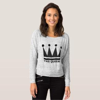 Rainha de Yas!  Design da coroa da camisa de T