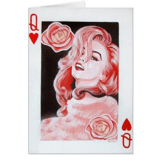 Rainha do cartão dos corações