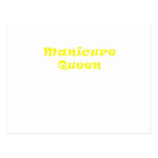 Rainha do Manicure Cartão Postal