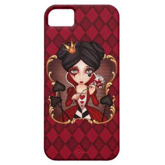 Rainha dos corações capa barely there para iPhone 5