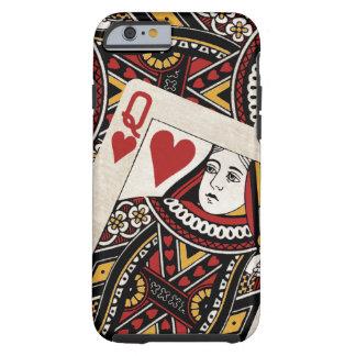 Rainha dos corações capa tough para iPhone 6