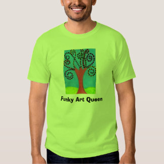 Rainha Funky da arte, Tshirts