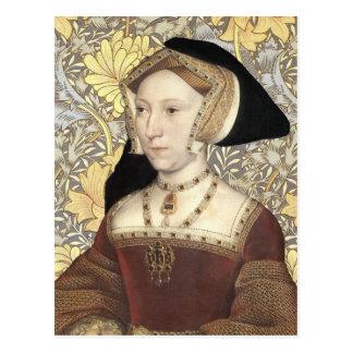 Rainha Jane Seymour - cartão do retrato