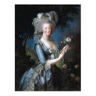 Rainha Marie Antoinette da descrição sumária de Fr Cartão Postal
