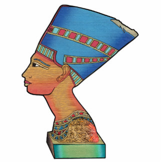 Rainha Nefertiti Esculturafoto