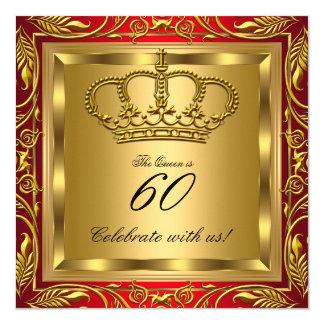 Rainha ou festa de aniversário do rei Real Convite Quadrado 13.35 X 13.35cm