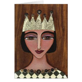 Rainha régia - cartão (3)