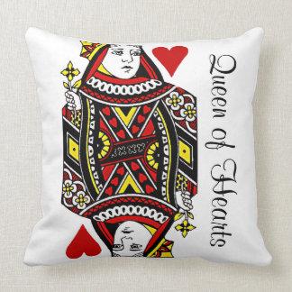 Rainha reversível do travesseiro decorativo do almofada