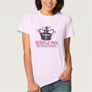 """""""Rainha t-shirt do fisioterapeuta da dor"""""""