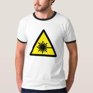 Raio laser camiseta