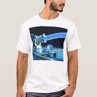 Raio laser retro do assassino de Sci Fi do kitsch Camiseta