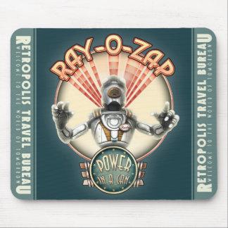 Raio-O-Zap o tapete do rato retro do robô Mouse Pad