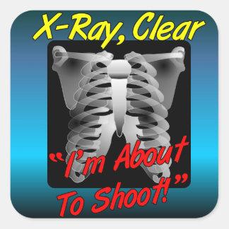 Raio X, etiqueta clara