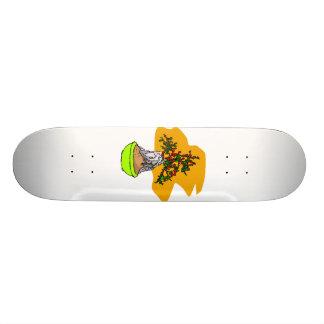Raiz sobre a imagem do gráfico dos bonsais da baga skate boards