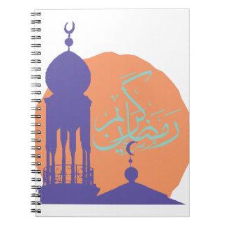 Ramadan Cadernos Espiral
