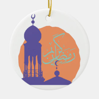 Ramadan Ornamento De Cerâmica