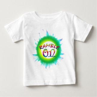 Ramble sobre camiseta para bebê