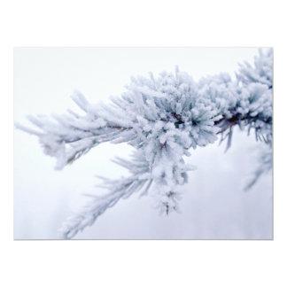 Ramo congelado dos trabalhos de exposição dos convite 16.51 x 22.22cm