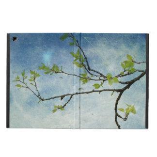 Ramo de árvore sobre o céu Textured