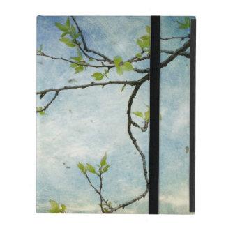 Ramo de árvore sobre o céu Textured iPad Capa