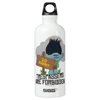 Ramo dos troll | - os Trespassers são proibidos Garrafa D'água De Alumínio