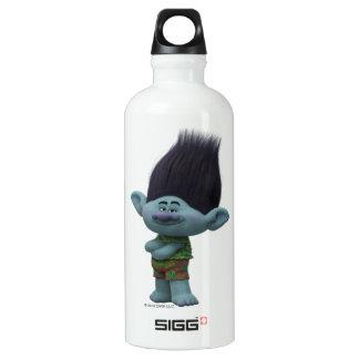 Ramo dos troll | - sorriso garrafa d'água de alumínio