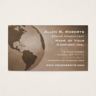 Ramo global de Americas do comércio incorporado Cartão De Visitas