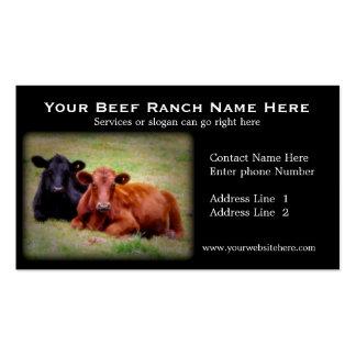 Rancho de gado ou cartões de visitas relacionados