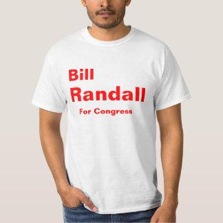 Randall para o congresso camiseta