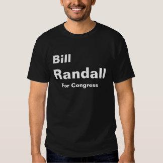 Randall para o congresso t-shirt