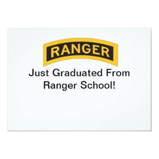 RangerTab, apenas graduado da escola da guarda Convites Personalizado