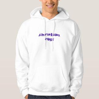 Rap cristão! Hoodie Moleton Com Capuz