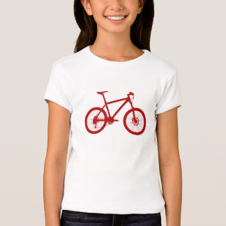 Rapariga American Apparel alpargata, bicicleta, Camiseta