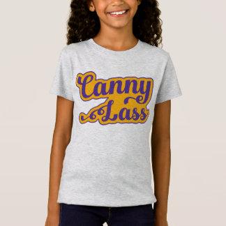 Rapariga prudente, t-shirt do calão de Geordie, Camiseta