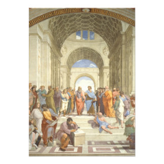 Raphael - Escola de Atenas Convites