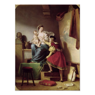 Raphael que ajusta a pose do seu modelo seu poster