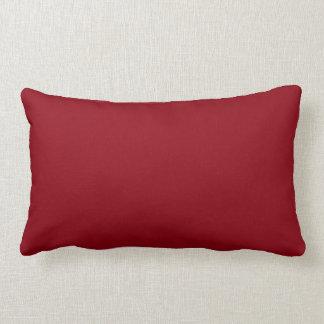 Rapinar menos dentes] no coxim lombar vermelho do travesseiro