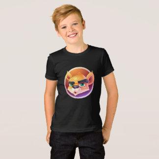raposa do círculo camiseta