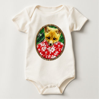 raposa havaiana redonda macacão