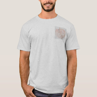 Raposa ornamentado camiseta