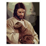 Raptor Jesus Posters