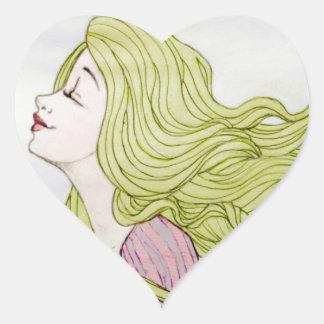 Rapunzel Adesivos De Corações