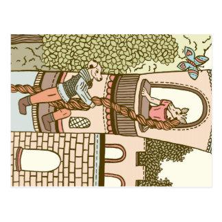 Rapunzel Cartoes Postais