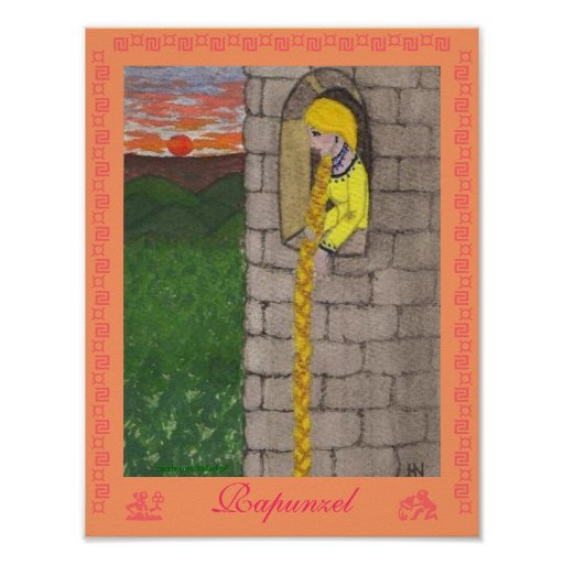 Rapunzel Pôsteres