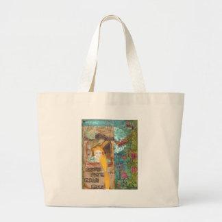 Rapunzel, sonhando bolsa para compras
