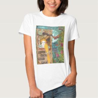 Rapunzel, sonhando t-shirt