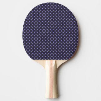 Raquete De Ping Pong a linha transversal abstrato dos pontos do design
