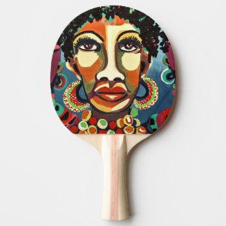 Raquete De Ping Pong africano