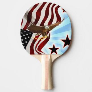 Raquete De Ping Pong Águia americana