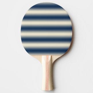 Raquete De Ping-pong Azuis marinhos ao inclinação amarelo arenoso